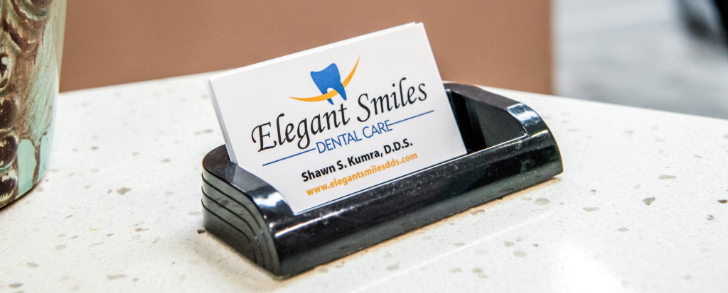 Elegant Smiles Dental Care Business Card